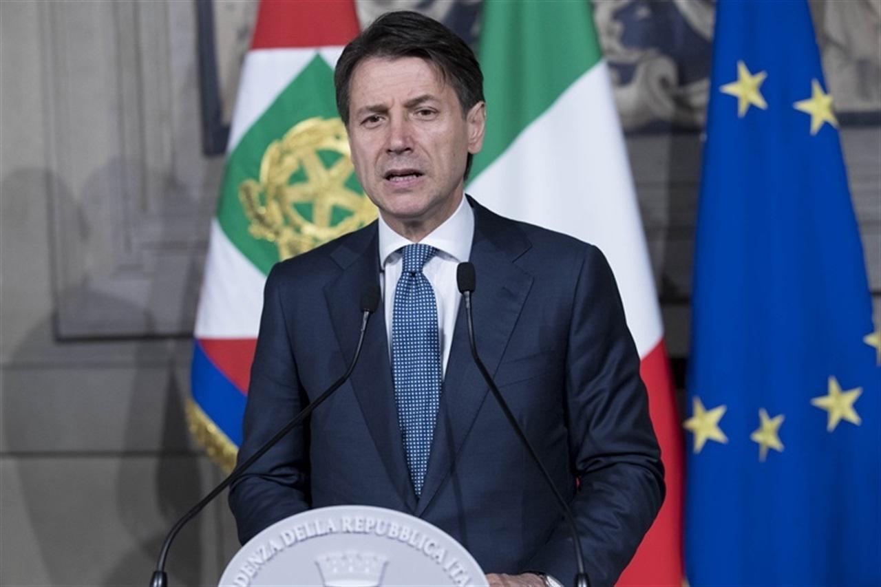 il premier incaricato Giuseppe Conte