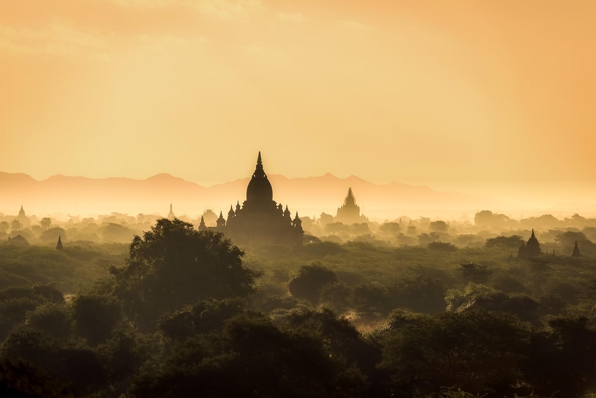 Panorama del Myanmar