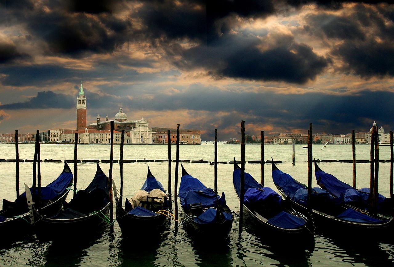 Veduta della città di Venezia