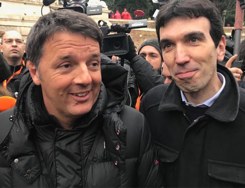 Maurizio Martina e Matteo Renzi