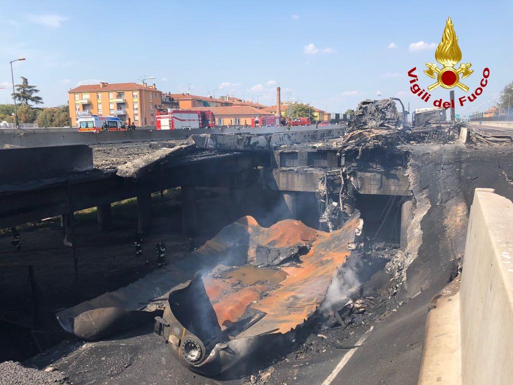 Esplosione a Bologna