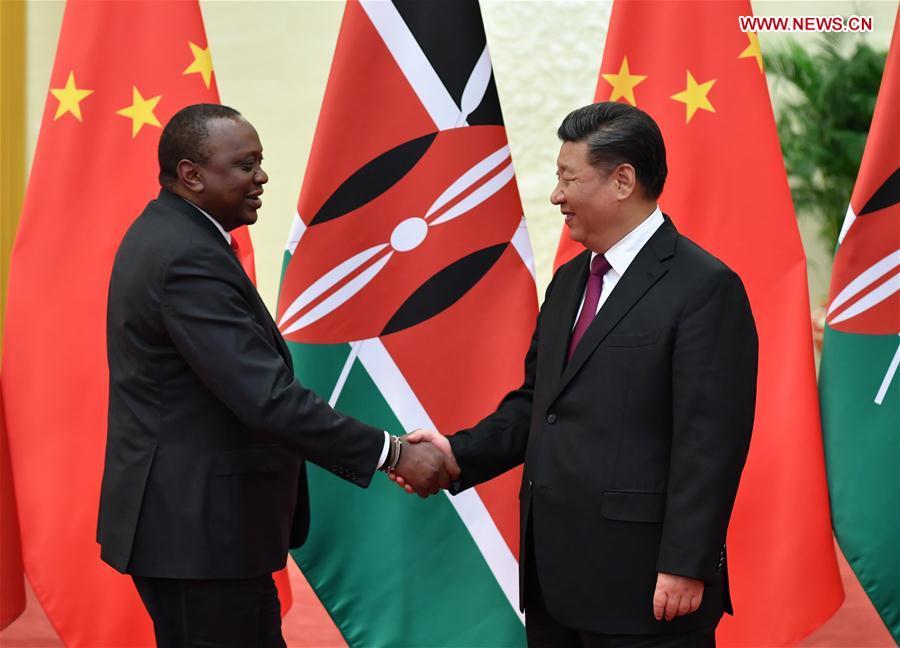 Xi Jinping Uhuru Kenyatta