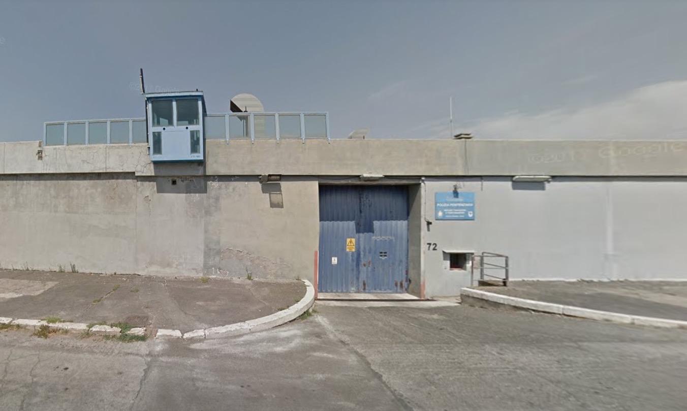carcere di Rebibbia a Roma