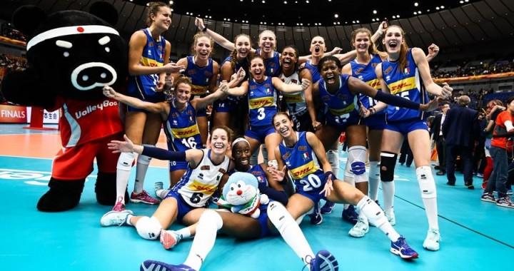 Azzurre volley femminile
