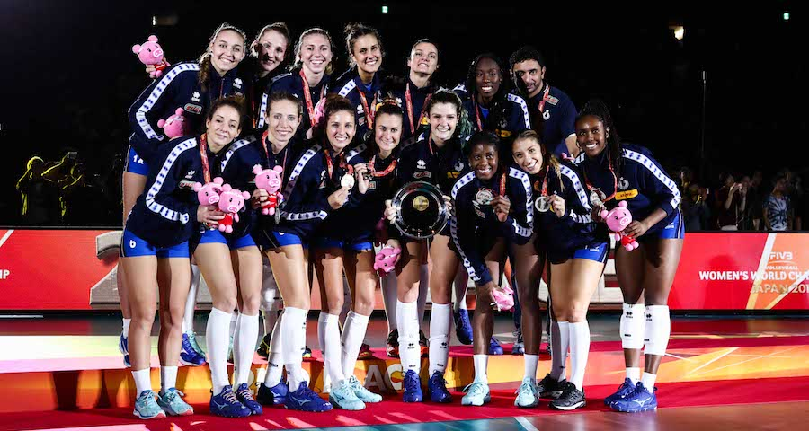 Italvolley femminile medaglia argento Mondiali 2018