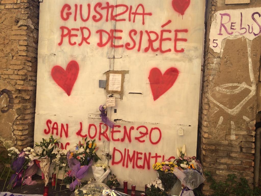 giustizia per Desirée - Roma