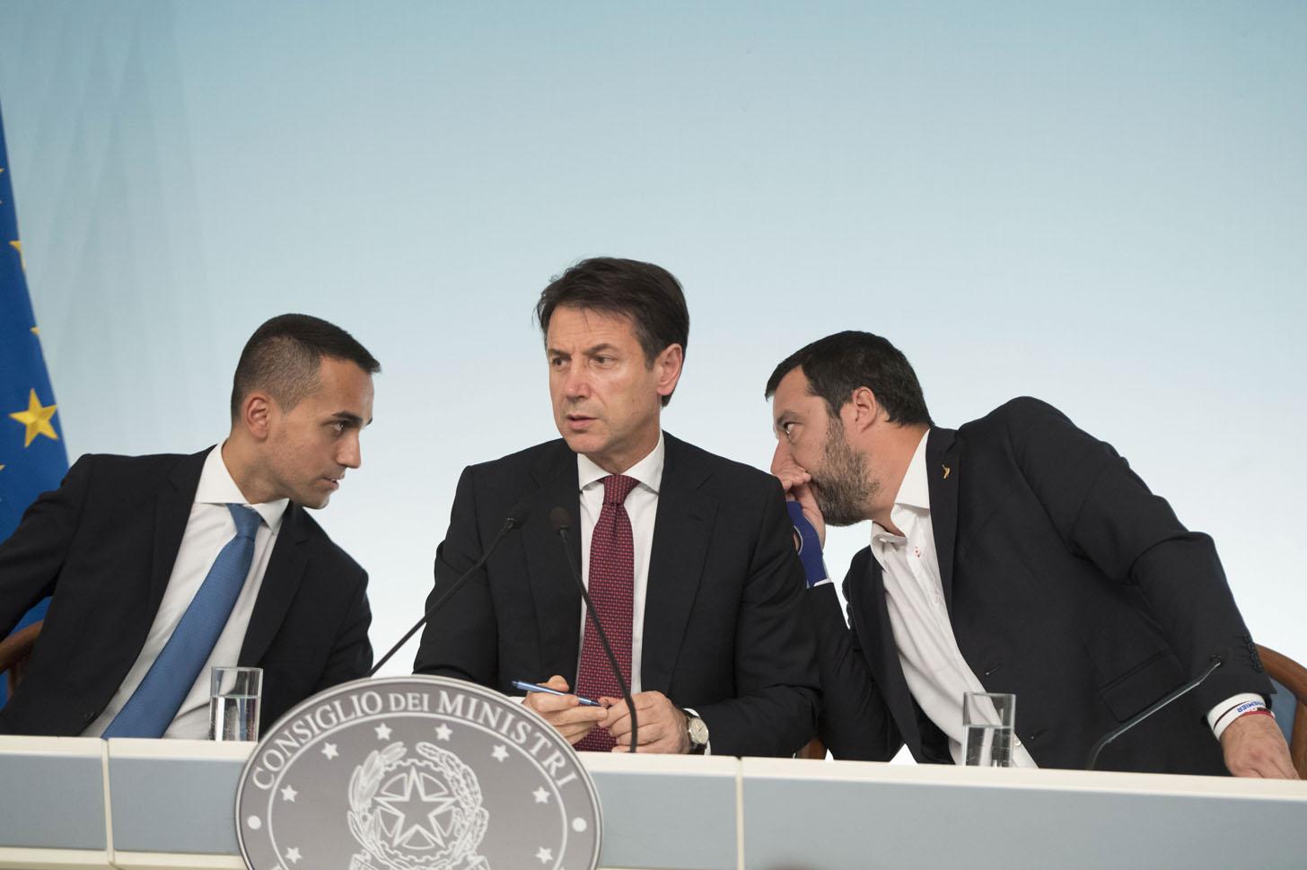 Salvini - Conte - Di Maio