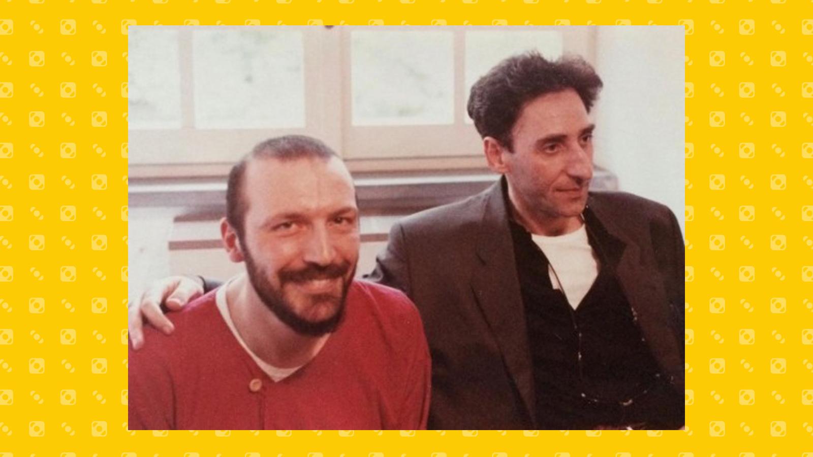 Franco Battiato e Juri Camisasca