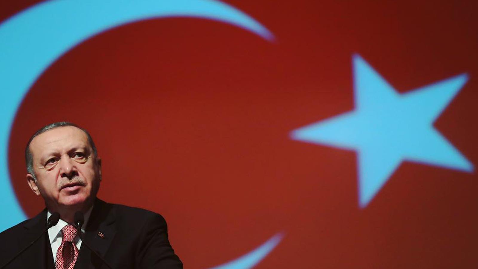 Guerra in Siria. Il Presidente turco Recep Tayyip Erdogan
