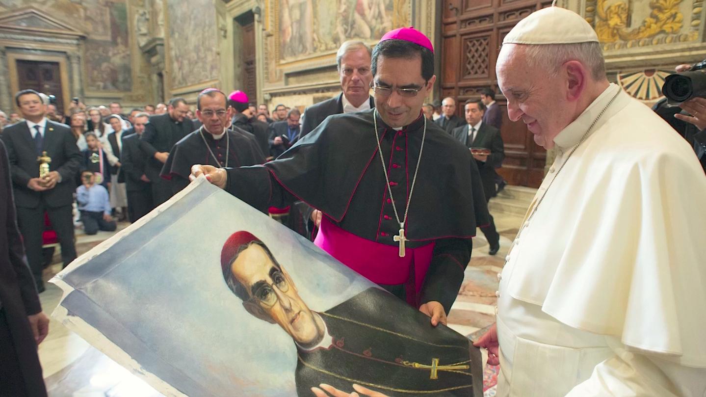 """""""Il risarcimento: Monsignor Romero, il suo popolo e Papa Francesco"""". Proiezione del documentario di Gianni Beretta e Patrik Soergel"""