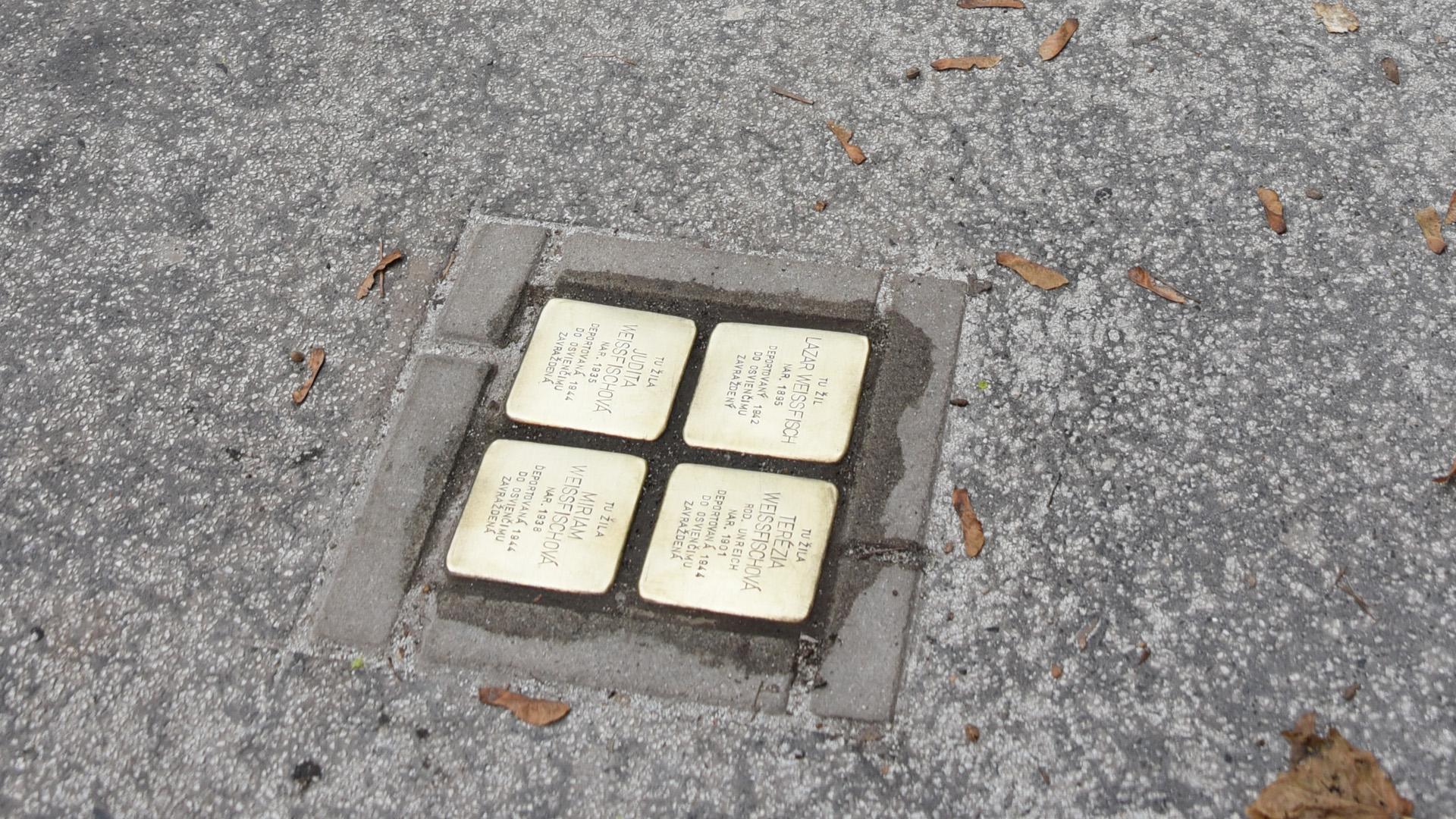 Pietre d'inciampo a Bratislava