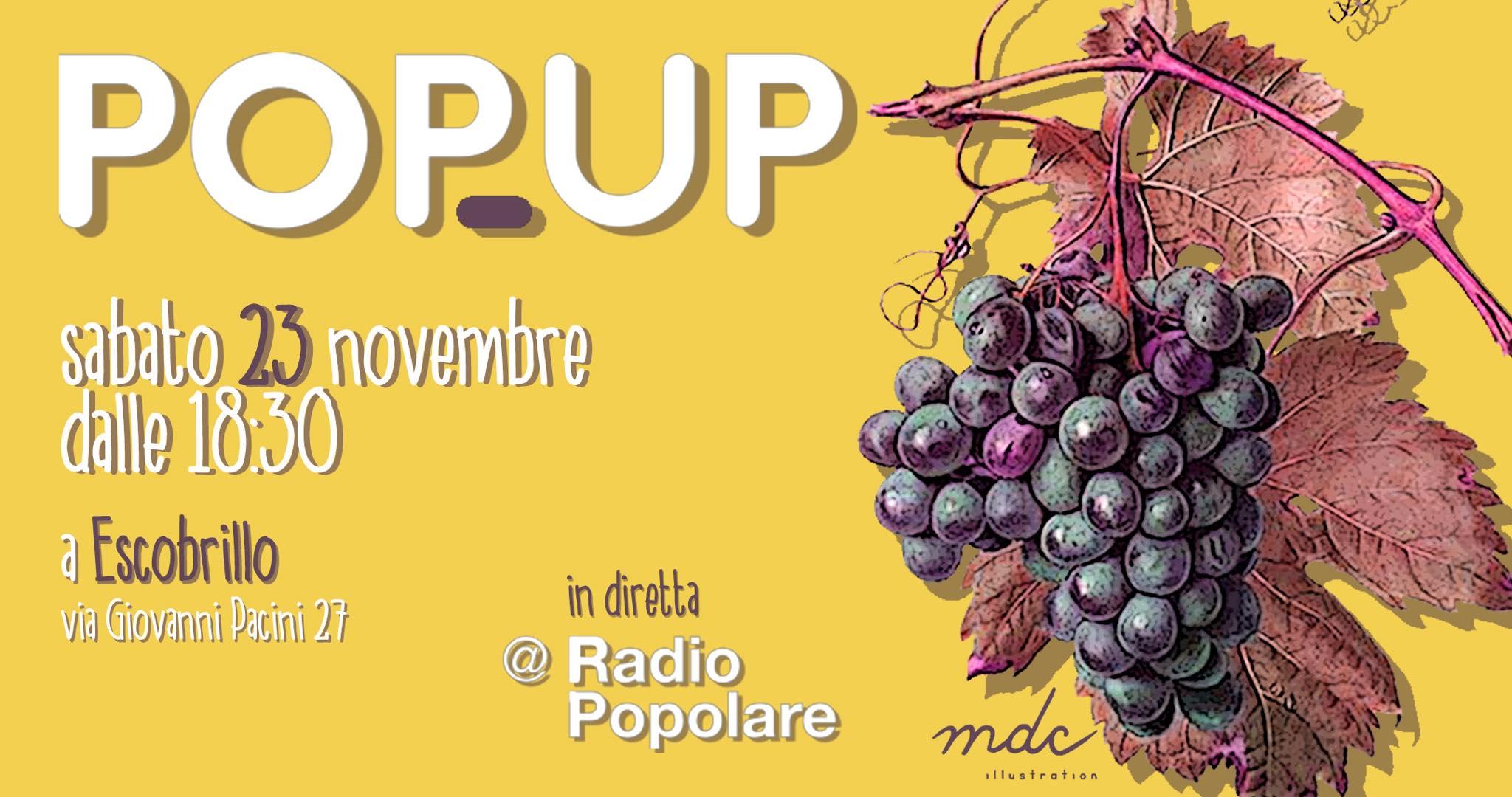 popup 23 novembre
