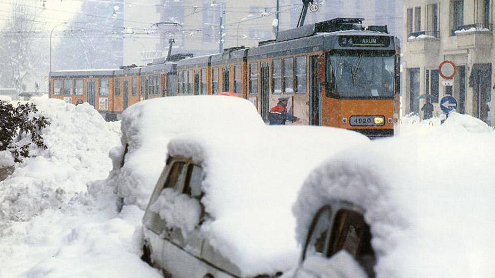 Milano. La nevicata del 1985