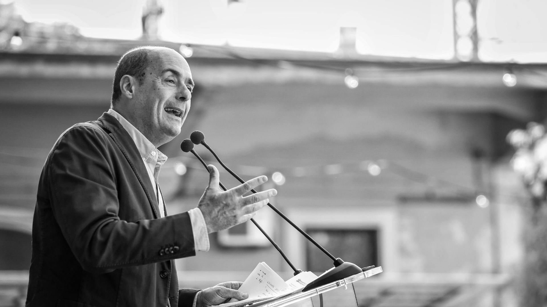Nicola Zingaretti PD