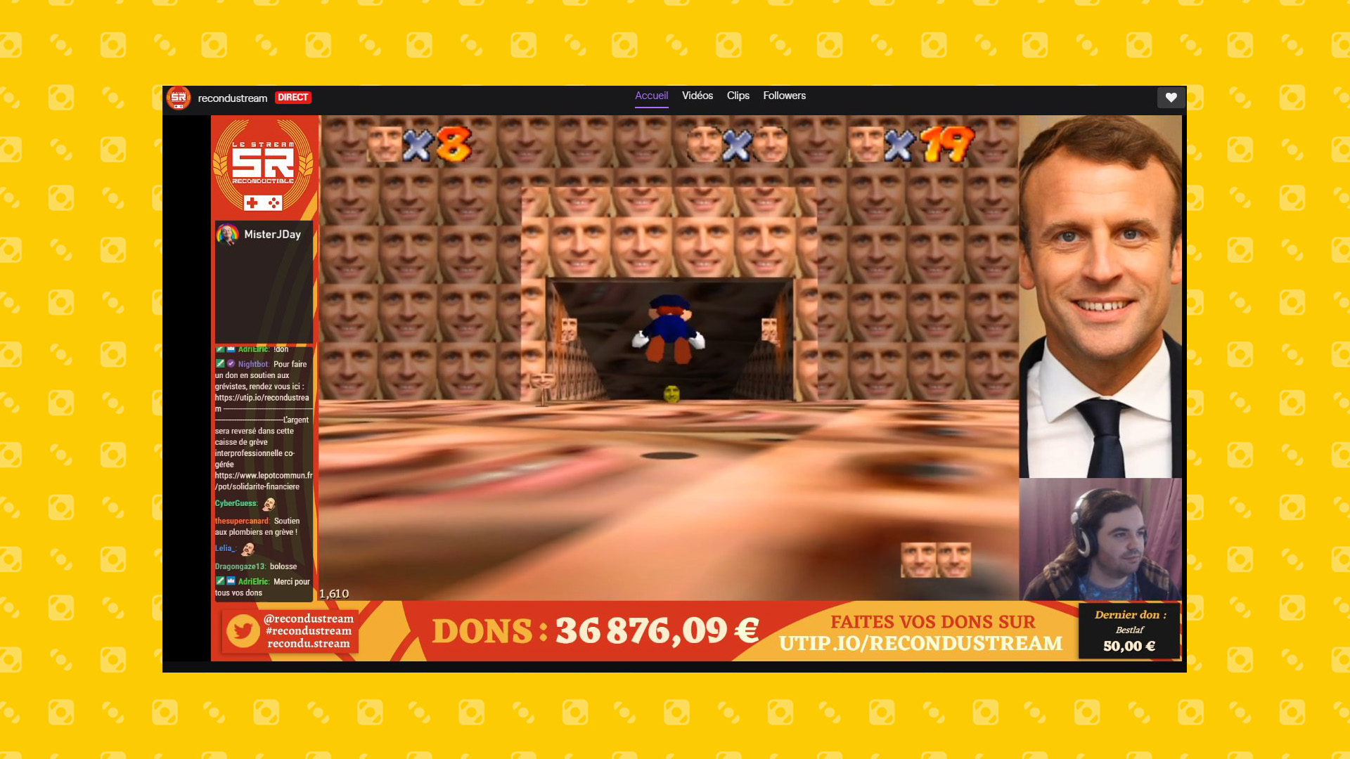 Super Macron 64