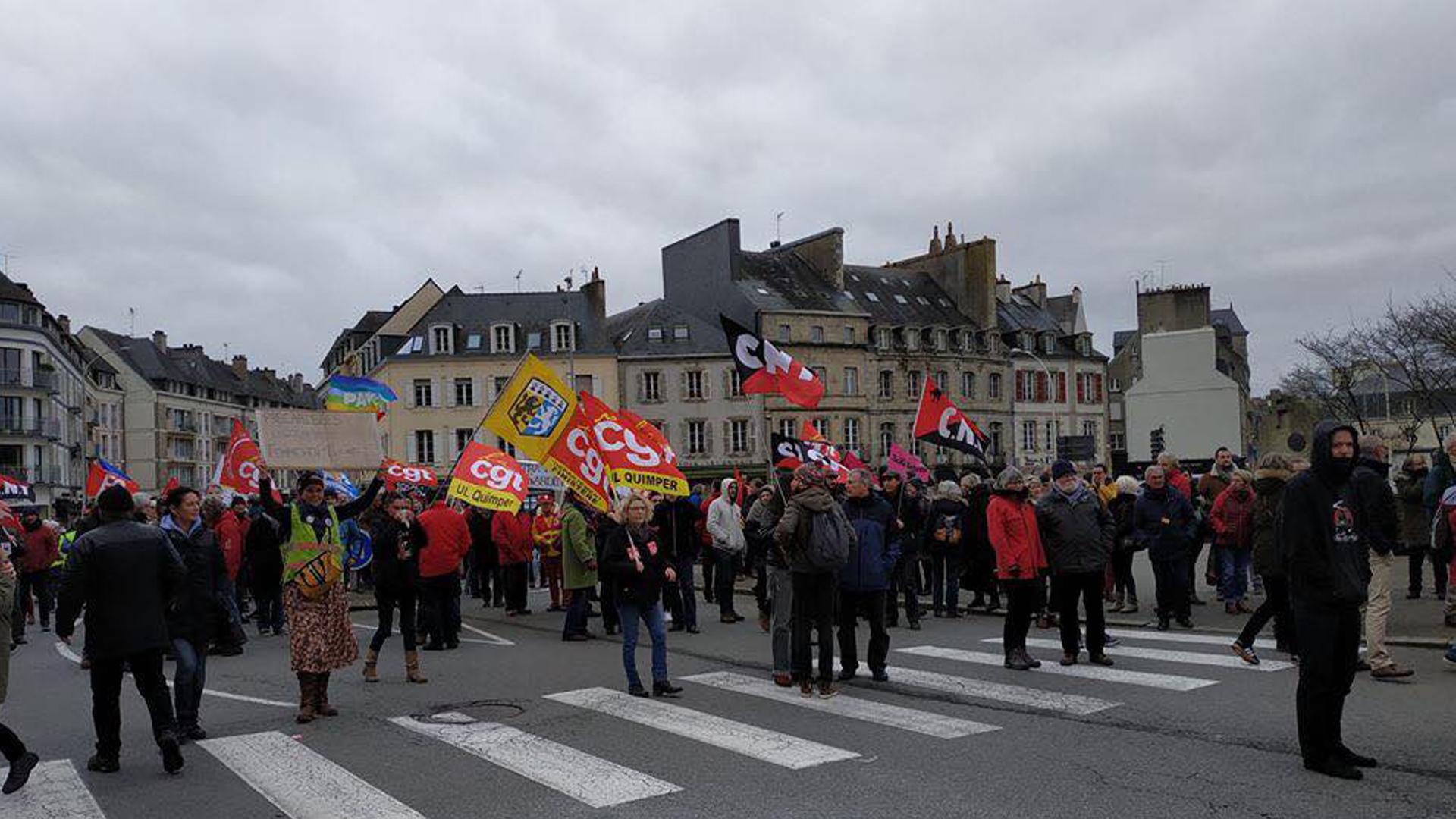 sciopero in Francia 2020