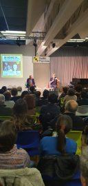 Lezioni antimafia, l'auditorium di Radio Popolare