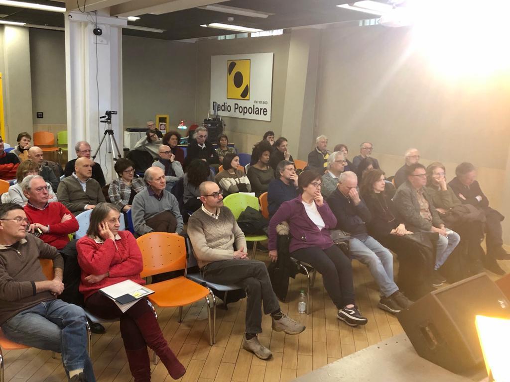 Lezioni di antimafia, l'auditorium Demetrio Stratos di Radio Popolare