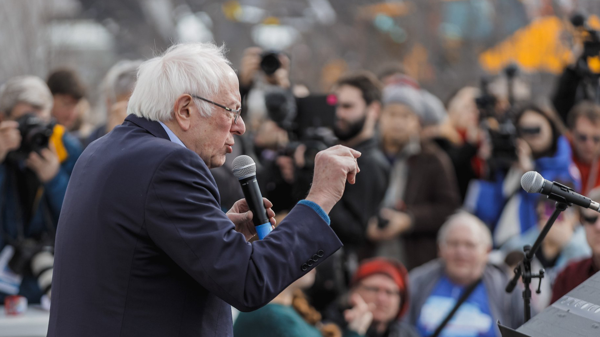 Bernie Sanders in Iowa
