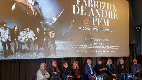 Fabrizio De André e PFM – Il concerto ritrovato. Intervista a Walter Veltroni e Dori Ghezzi