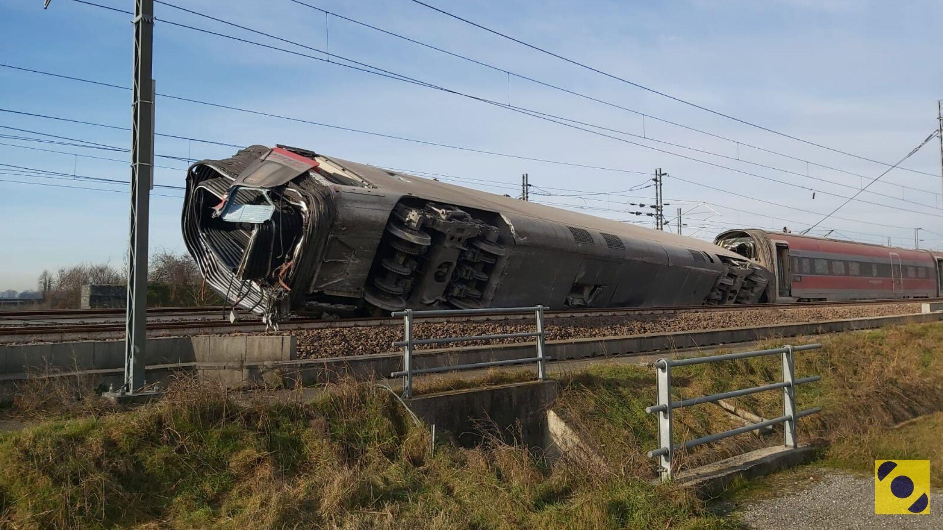 Incidente ferroviario a Lodi - 6 febbraio 2020