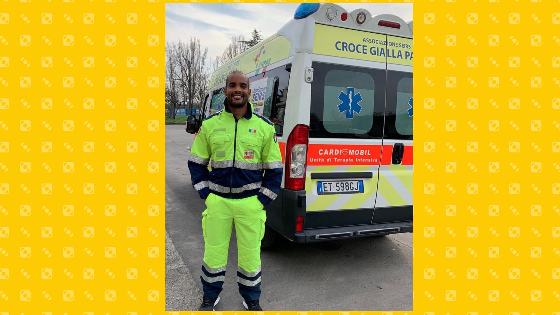 La storia di Maxime Mbandà: dalla nazionale di rugby al volontariato sulle ambulanze