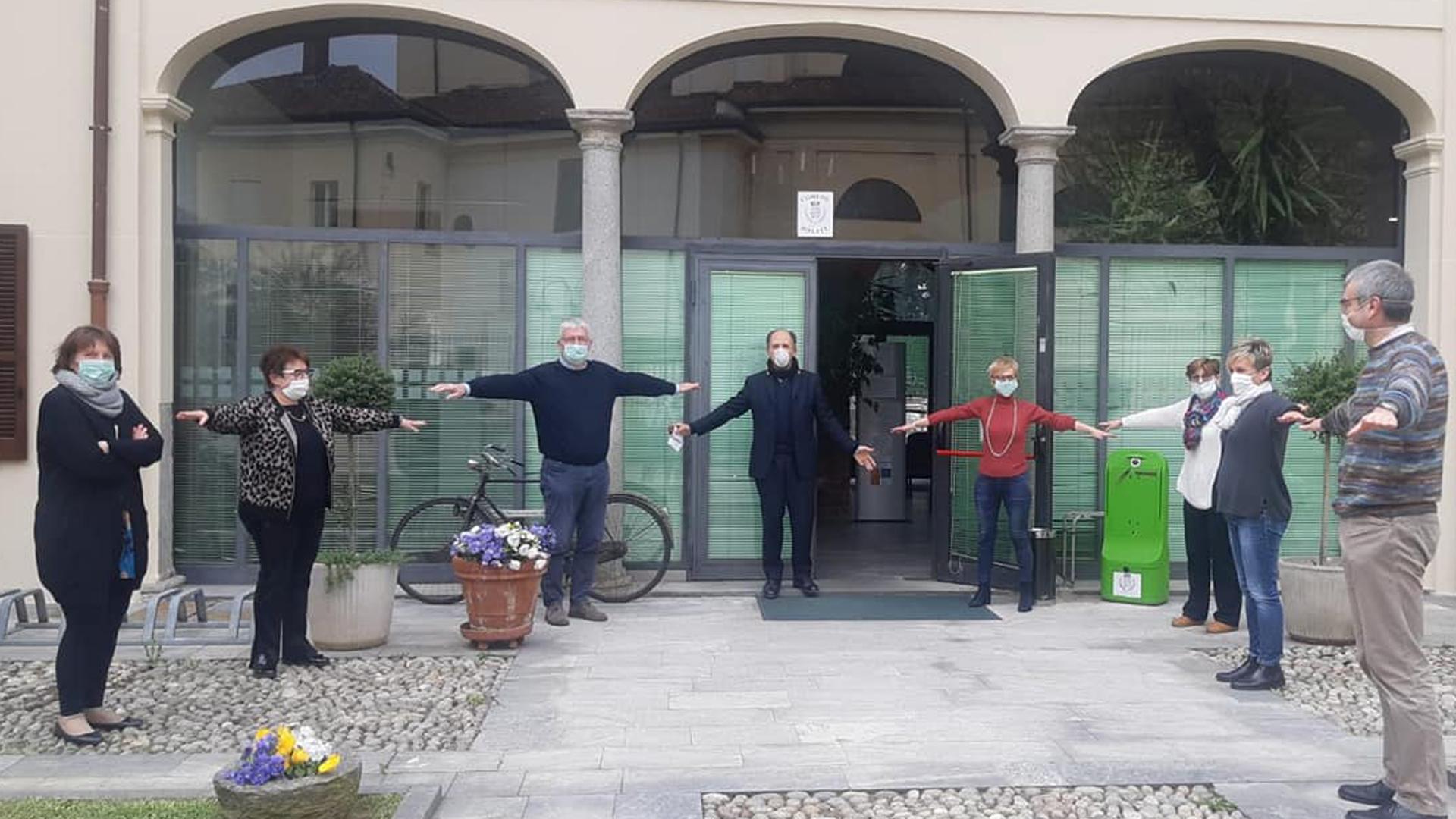 Italia in isolamento: la situazione a Rosate