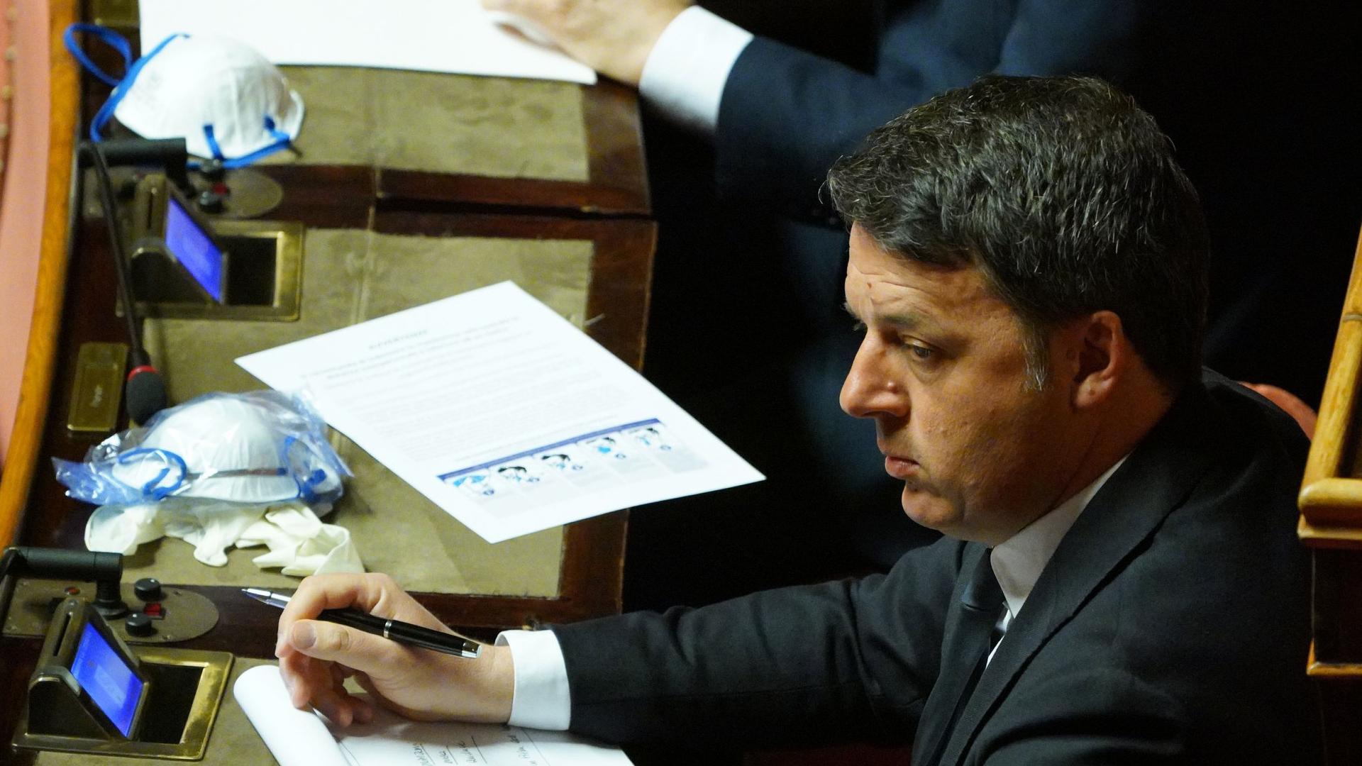Matteo Renzi Italia Viva Recovery Fund