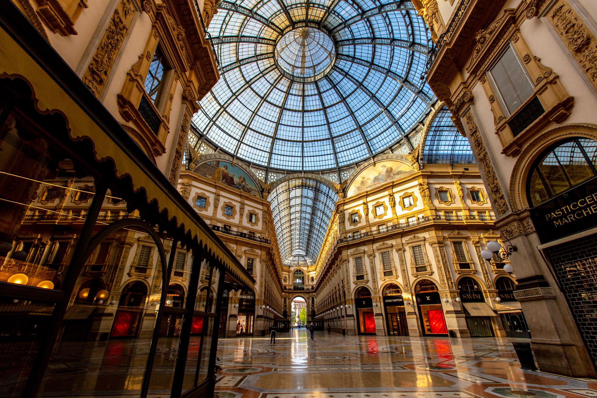 Lockdown Milano - Foto di Claudia Reali