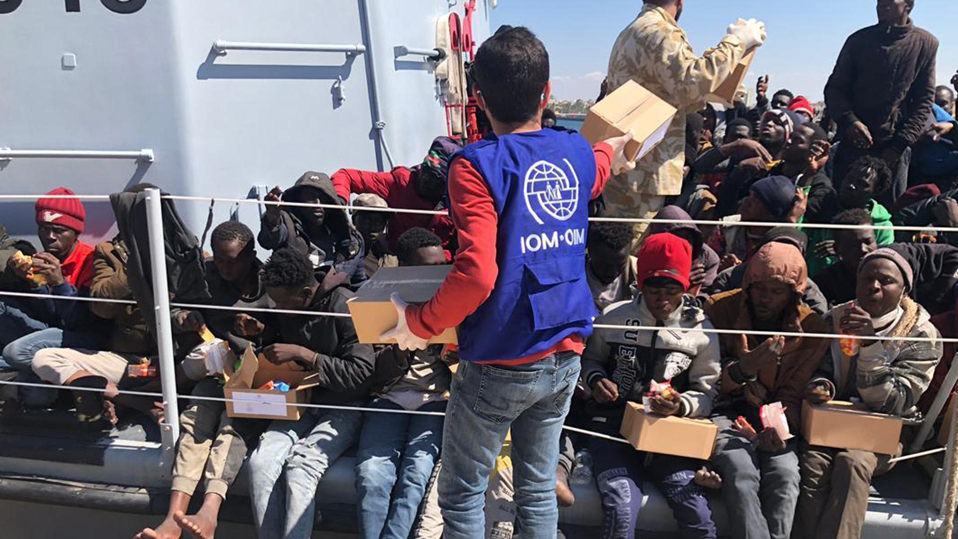migranti OIM - Decreti Salvini