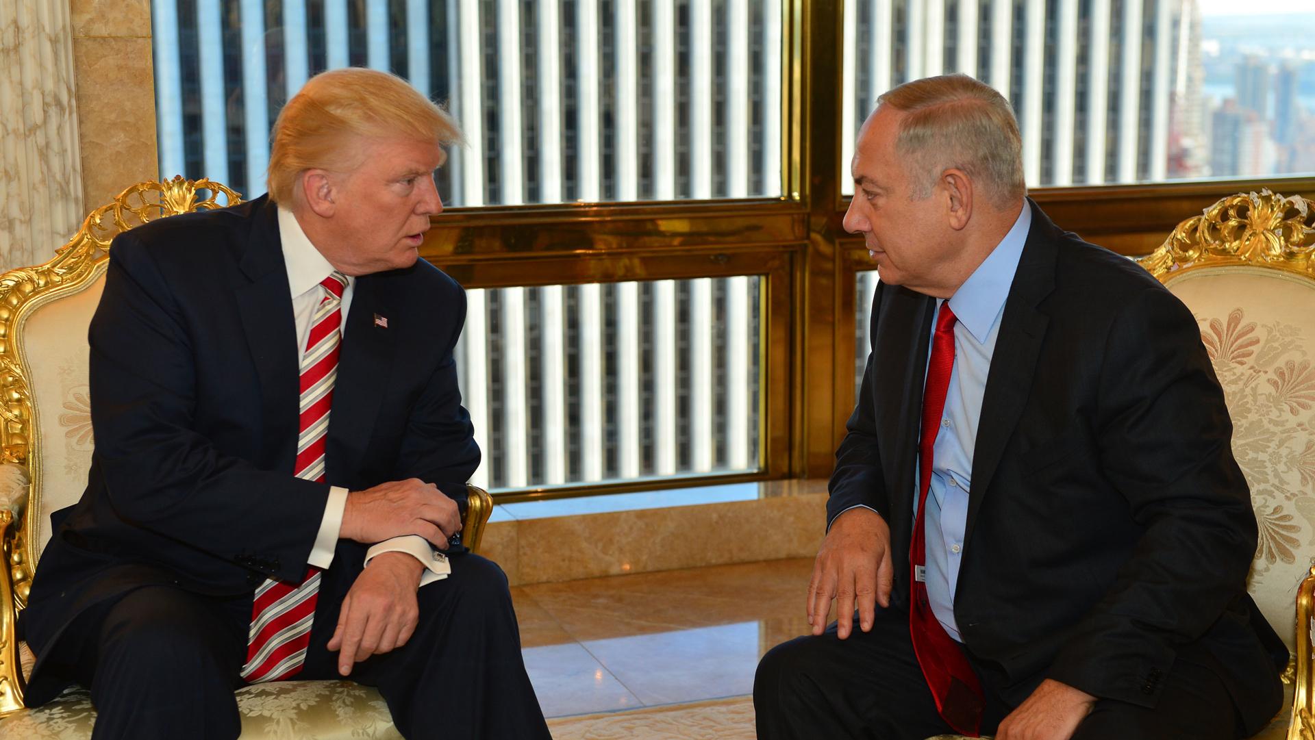 Benjamin Netanyahu Donald Trump
