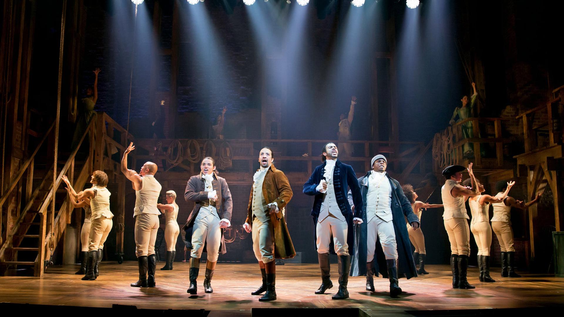 Il musical Hamilton arriva su Disney+