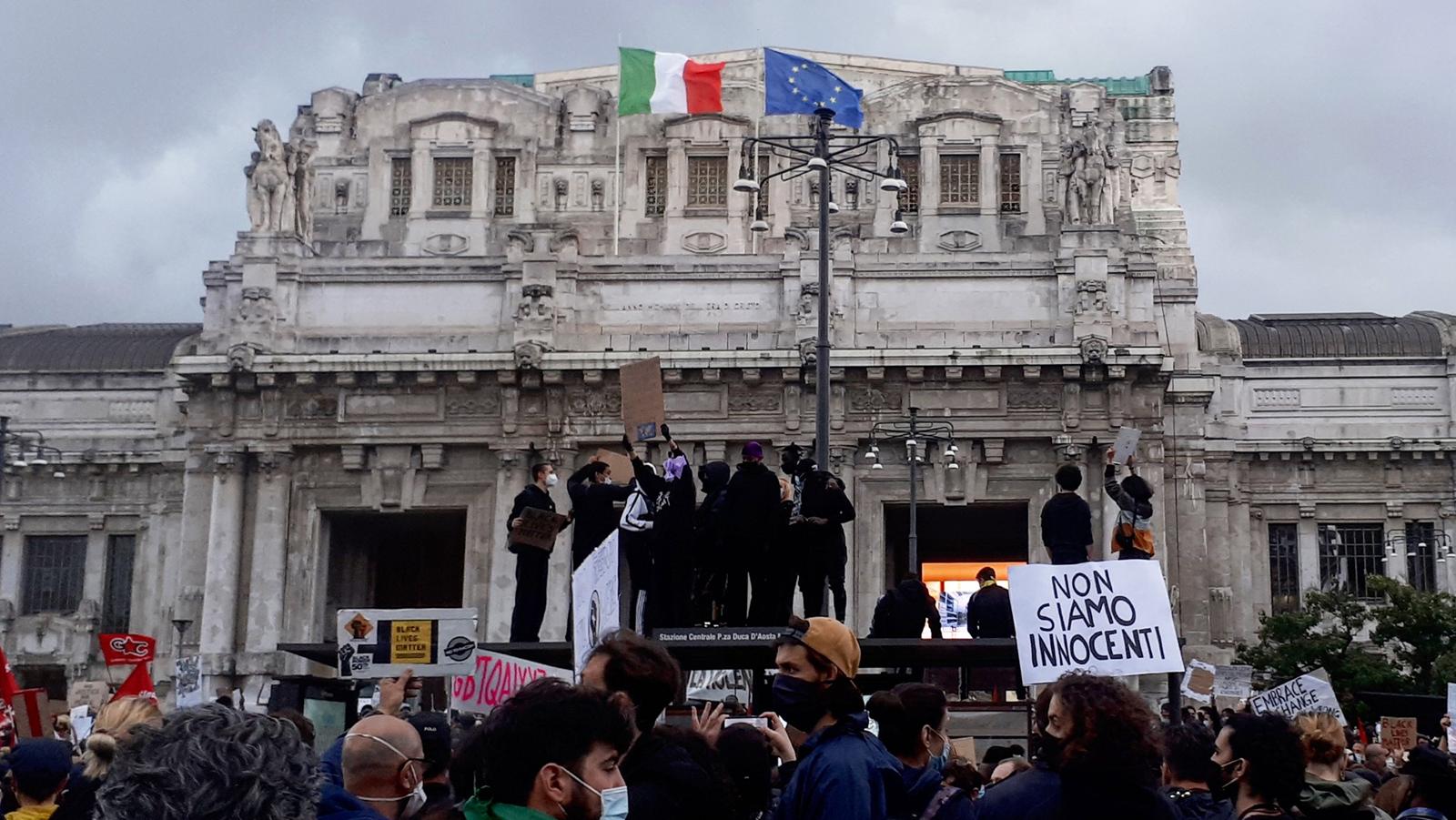 Manifestazione Milano