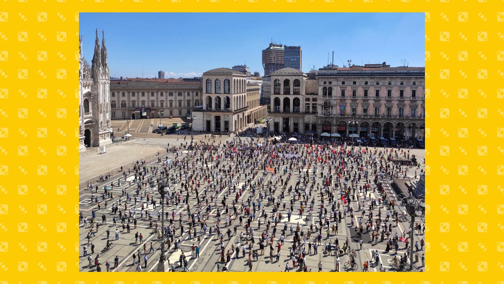 manifestazioni milano 20 giugno 2020