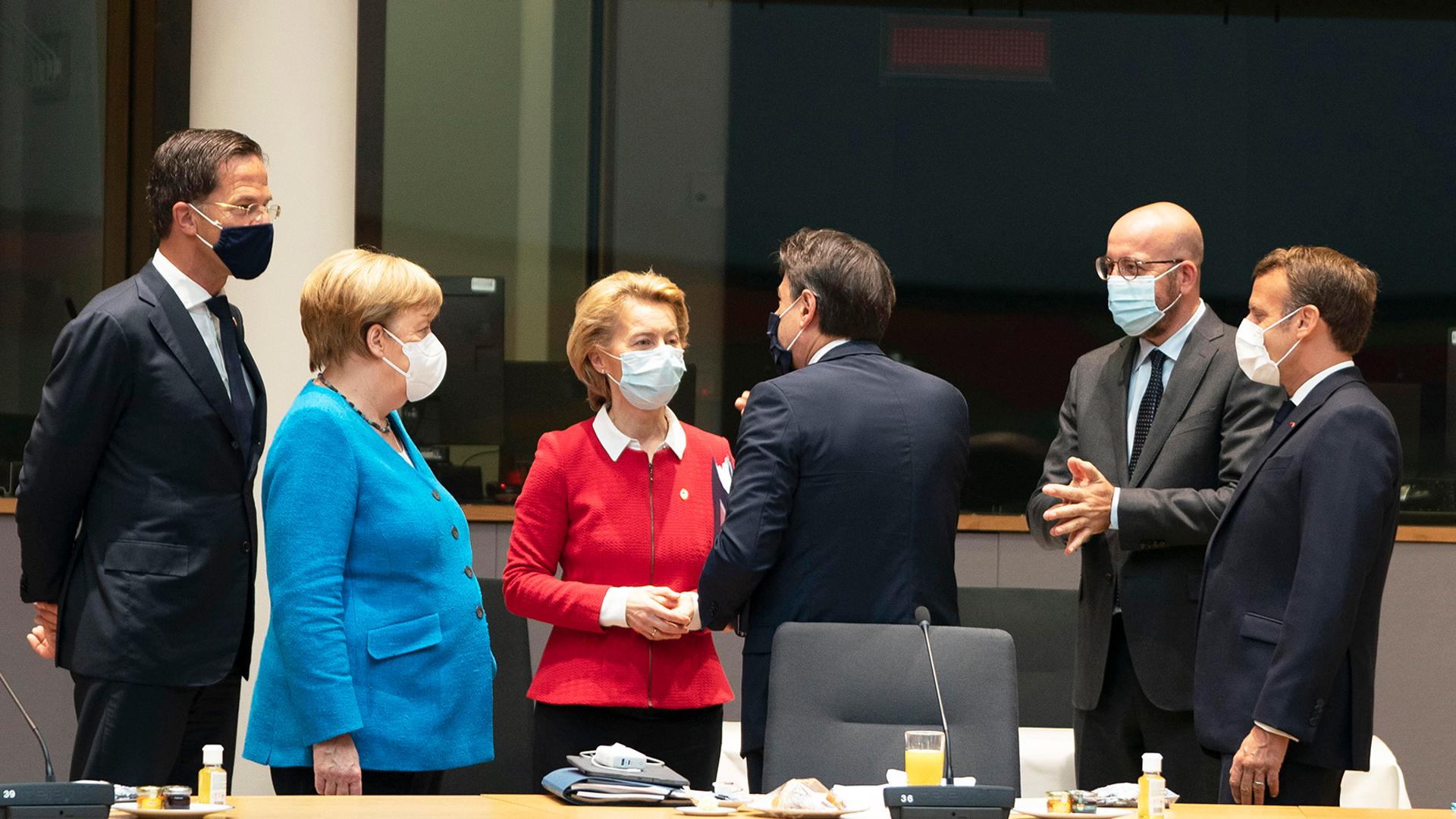 Conte Vertice UE