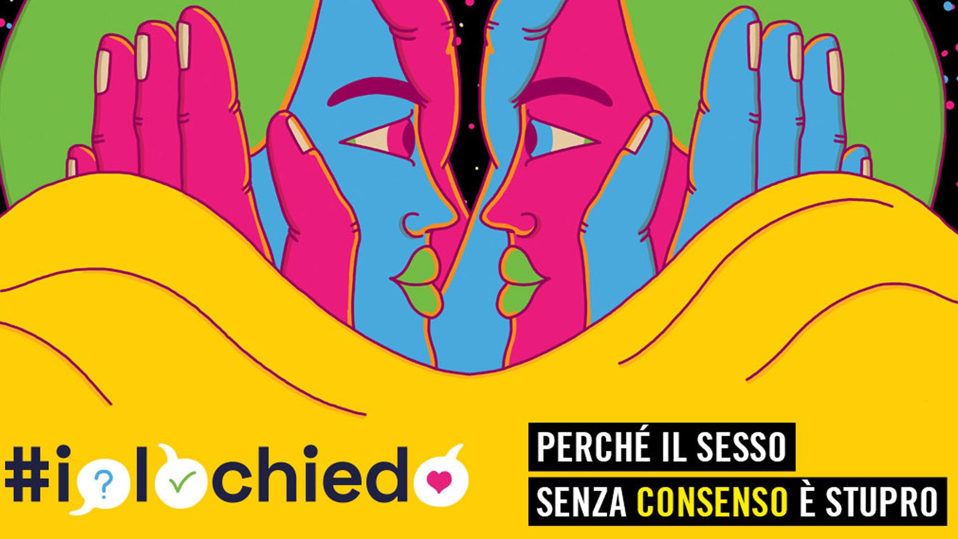 #IoLoChiedo, la campagna di Amnesty Italia per chiarire il concetto del consenso