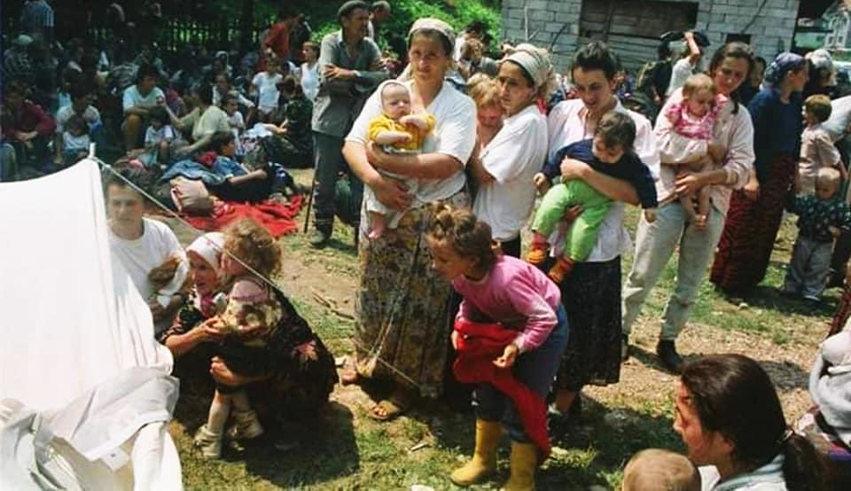 Selma Musić a Kladanj luglio 1992_Foto Ahmet Bajrić Blicko