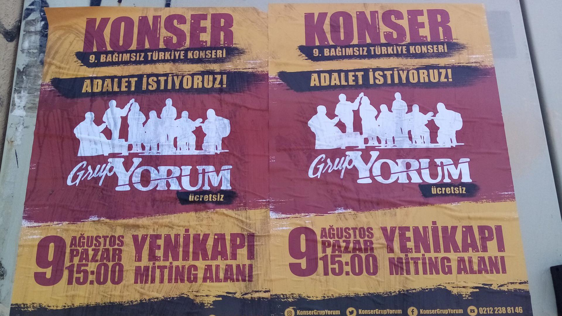 Turchia, il governo blocca il concerto di Grup Yorum