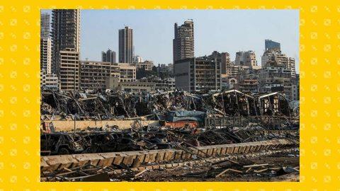 Beirut, capitale devastata di un Paese già in ginocchio