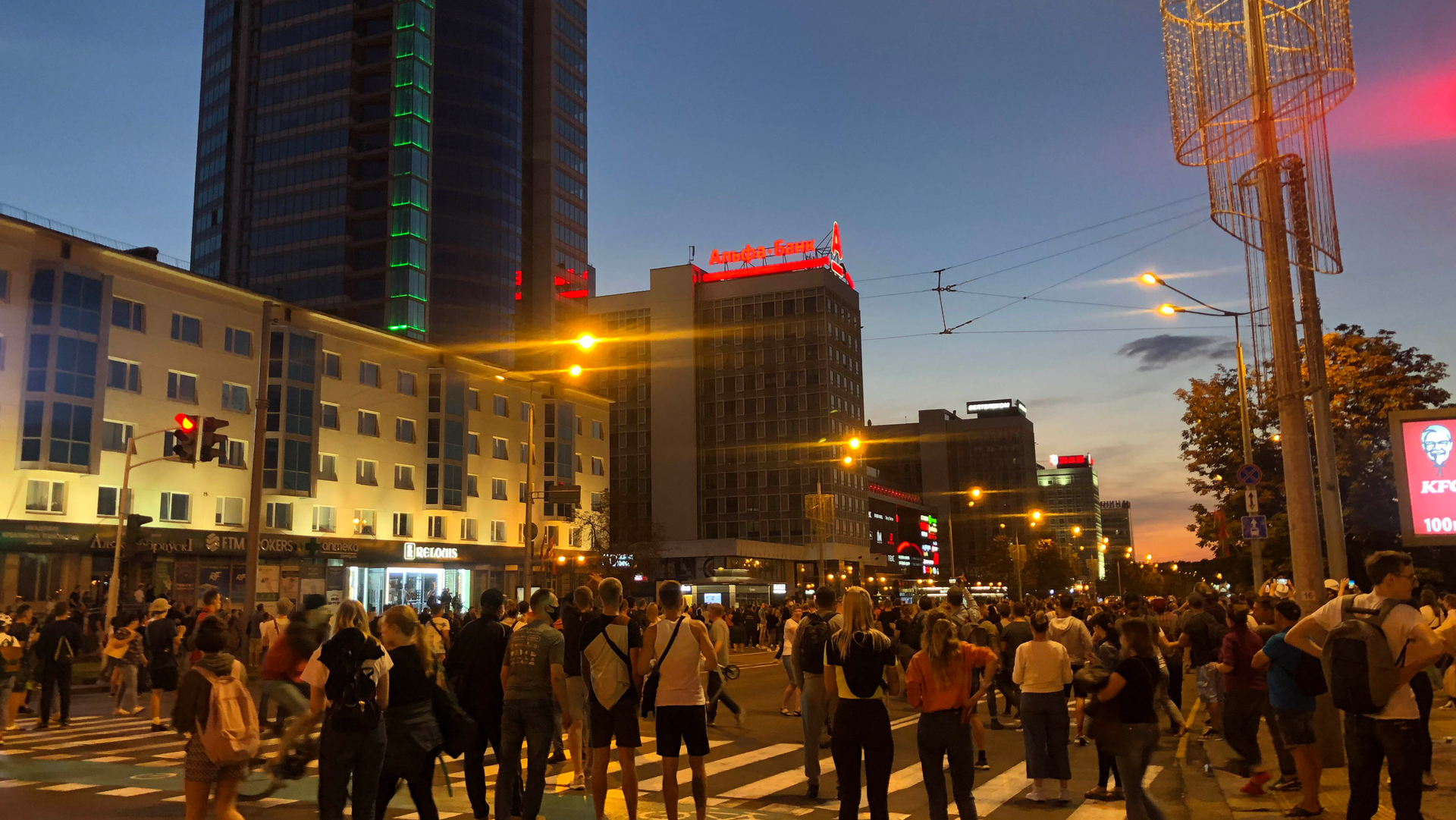 proteste bielorussia
