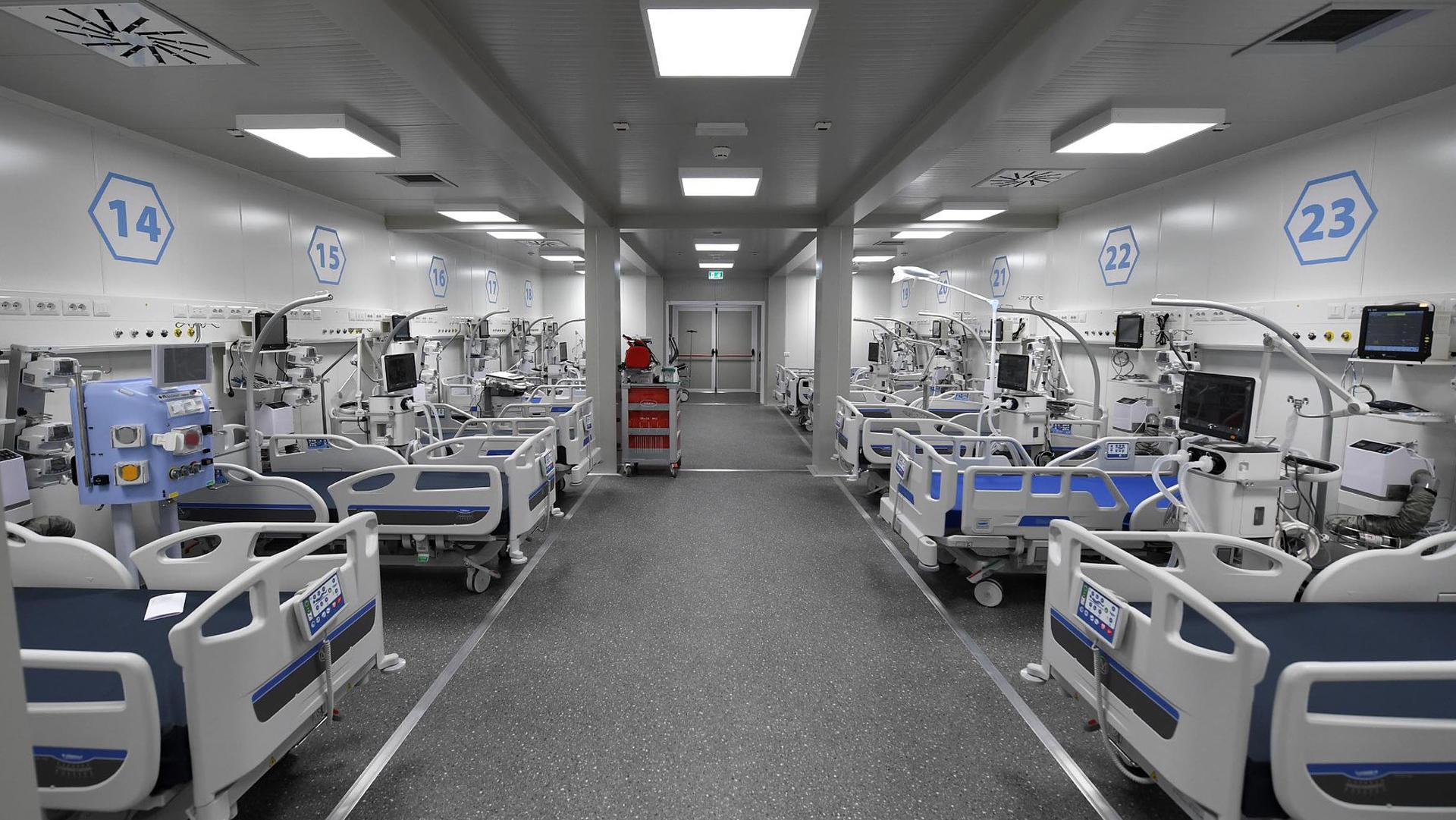 Piano Pandemico - Terapie Intensive Campania
