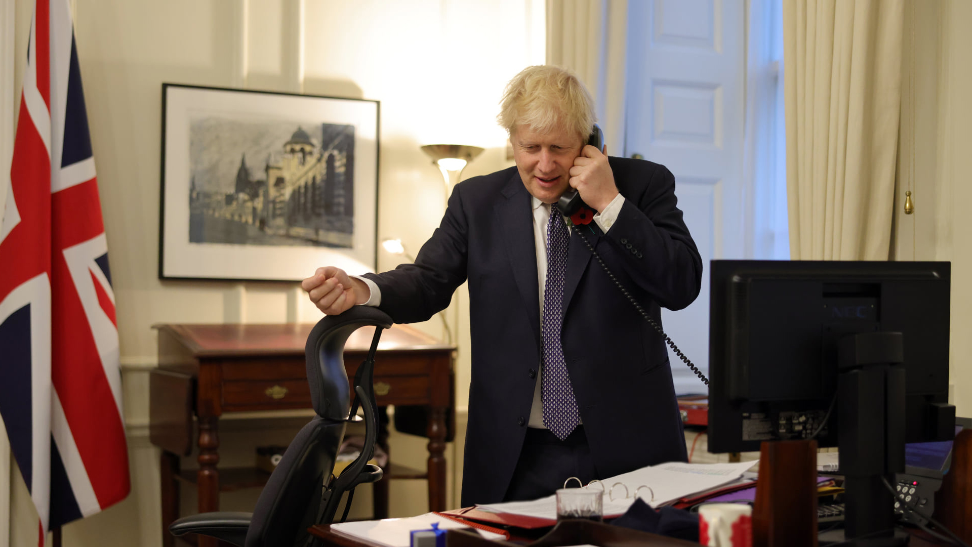 Boris Johnson Gran Bretagna