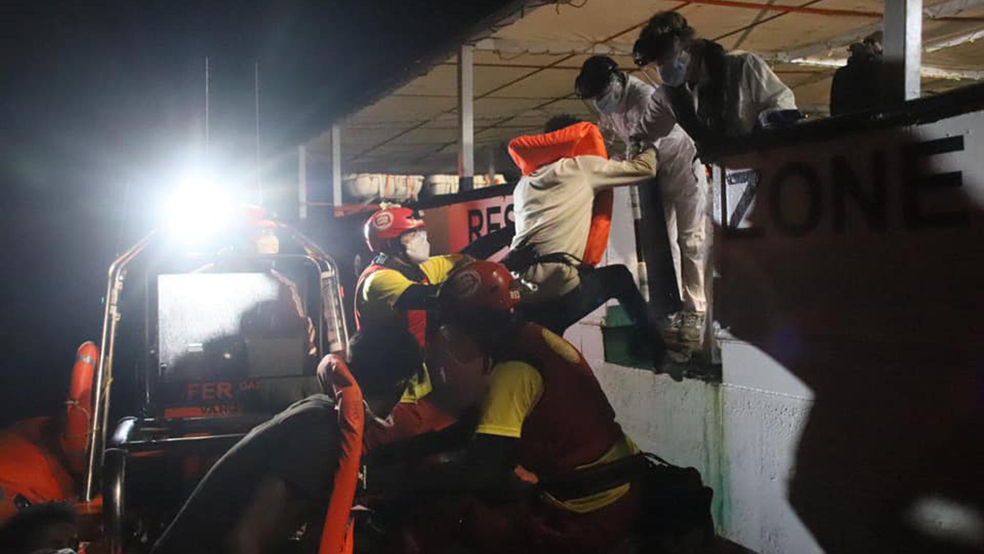 Open Arms Salvataggio Migranti