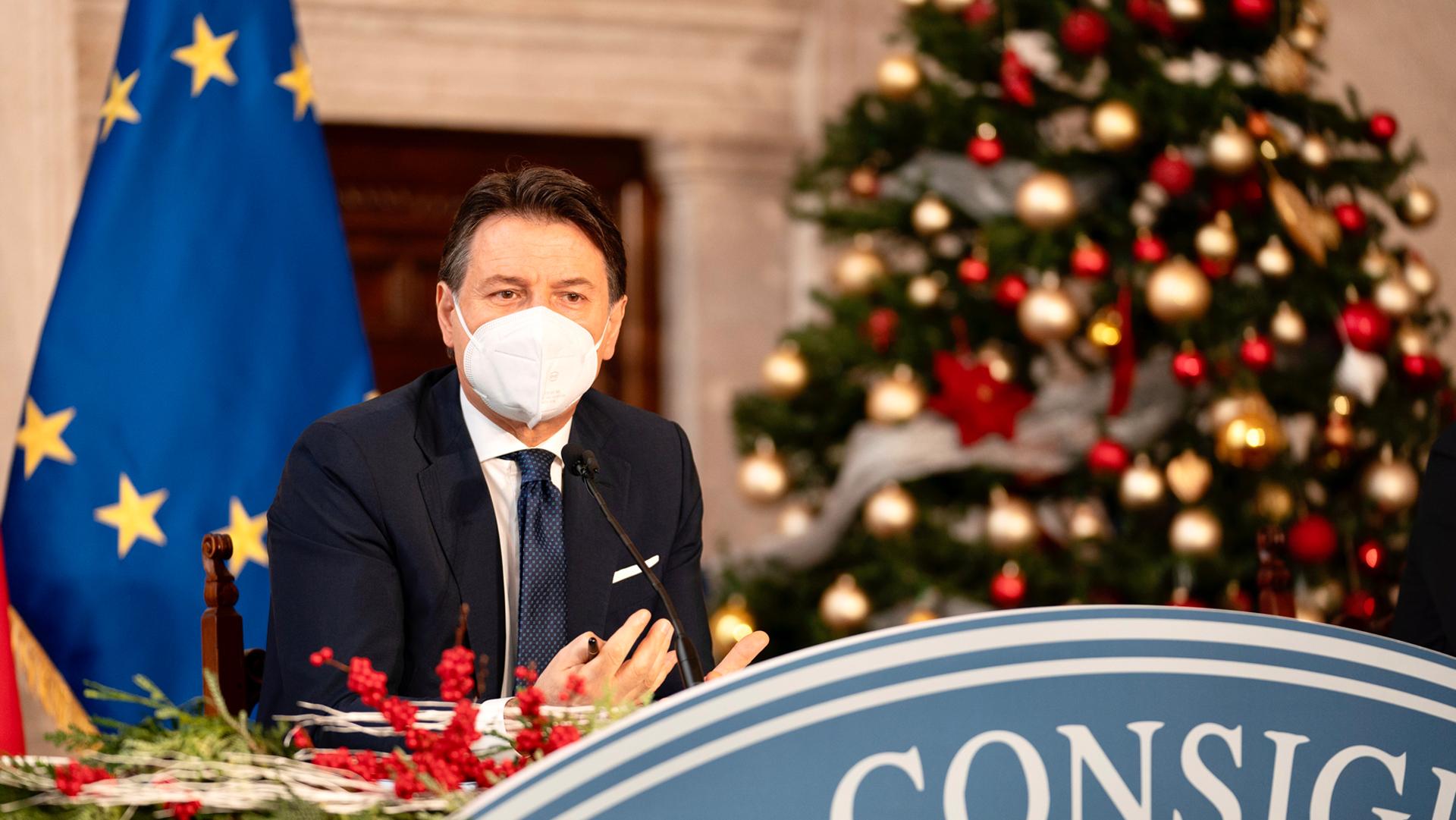 Giuseppe Conte Fine Anno