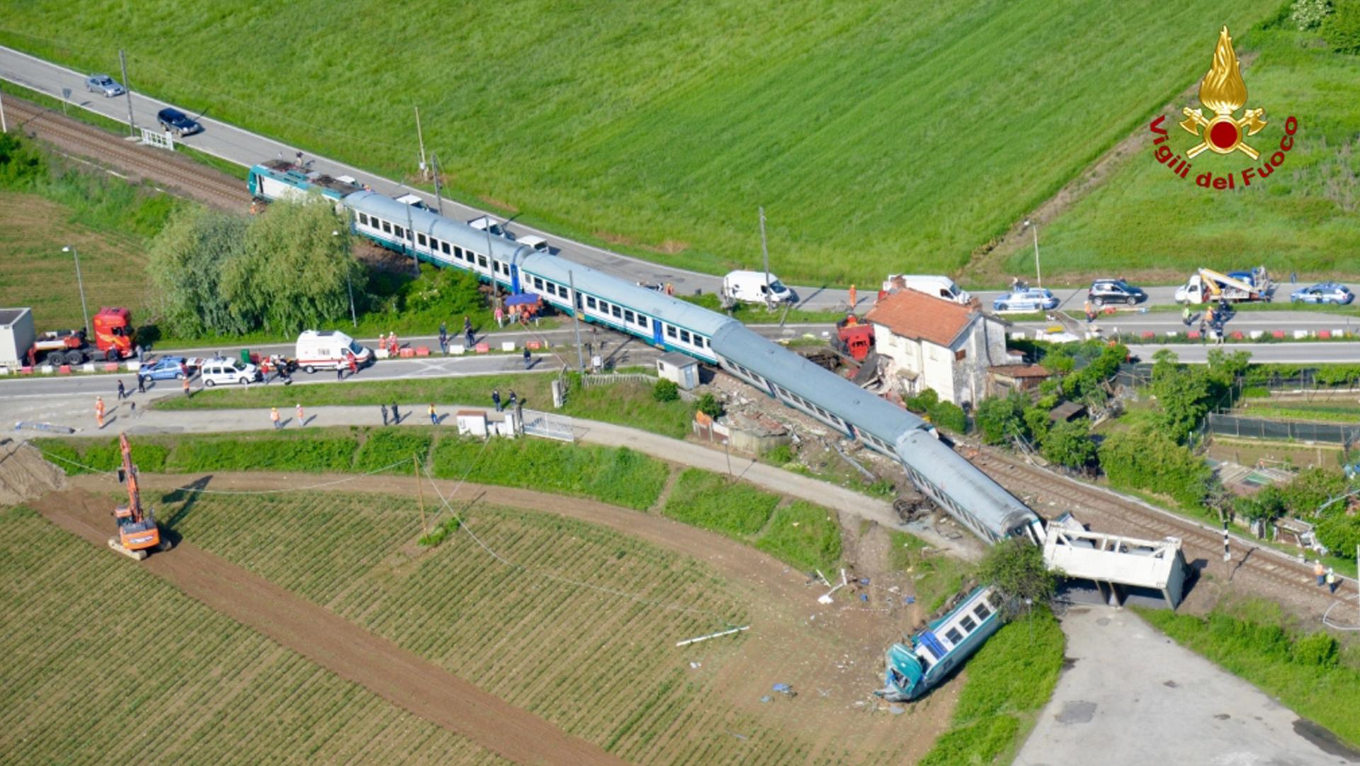 Molti incidenti ferroviari in Italia potevano essere evitati
