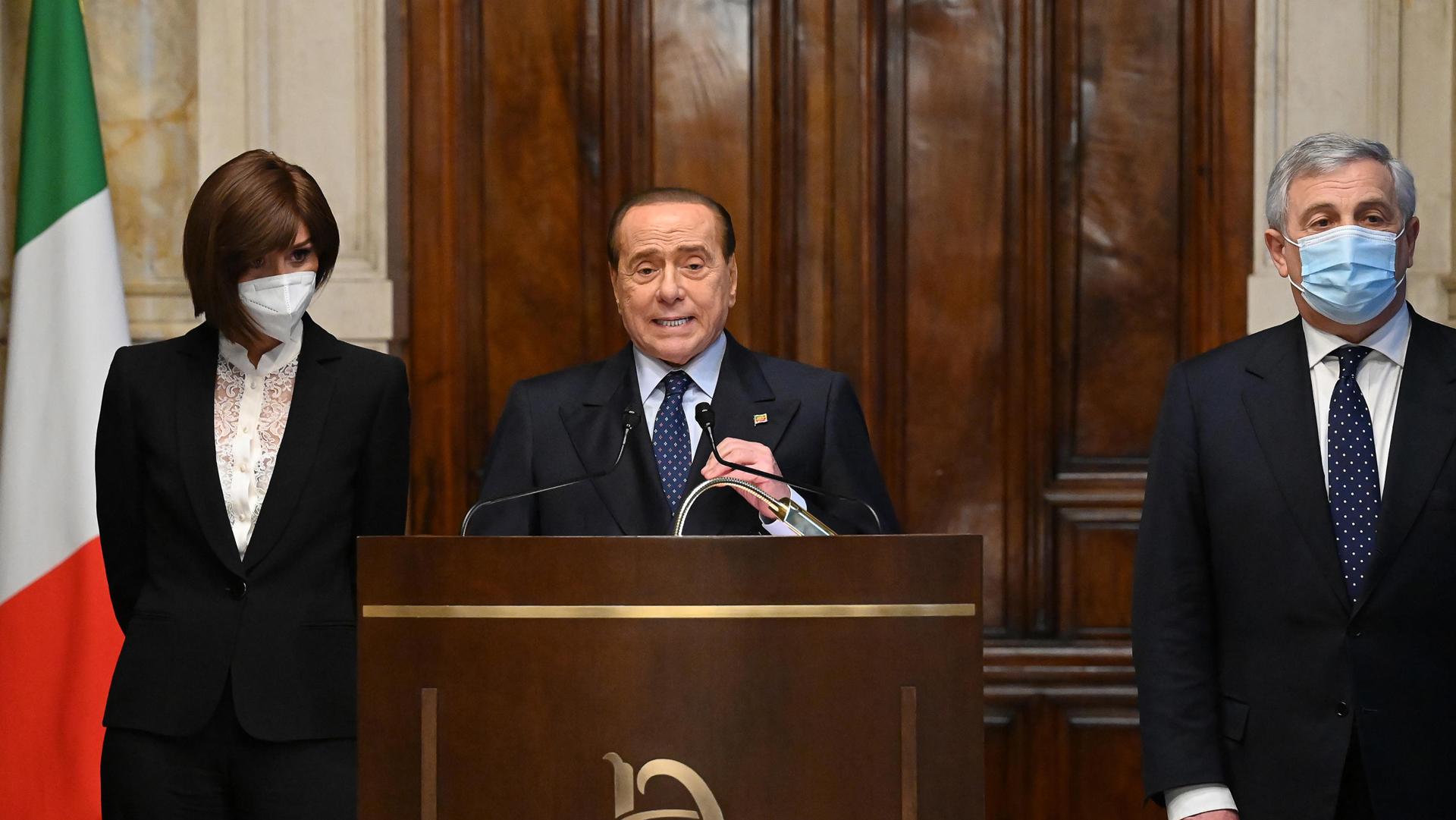 Berlusconi Draghi ANSA