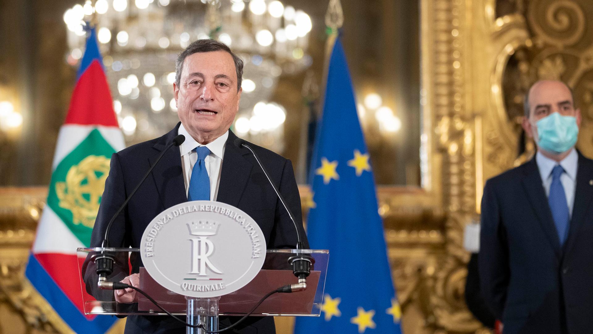 """Draghi Quirinale """"terza repubblica"""""""
