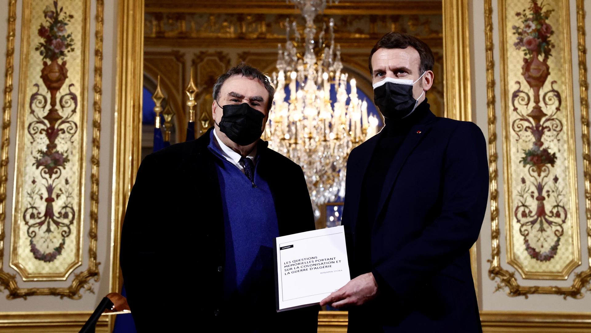 Francia Algeria - Stora Macron ANSA