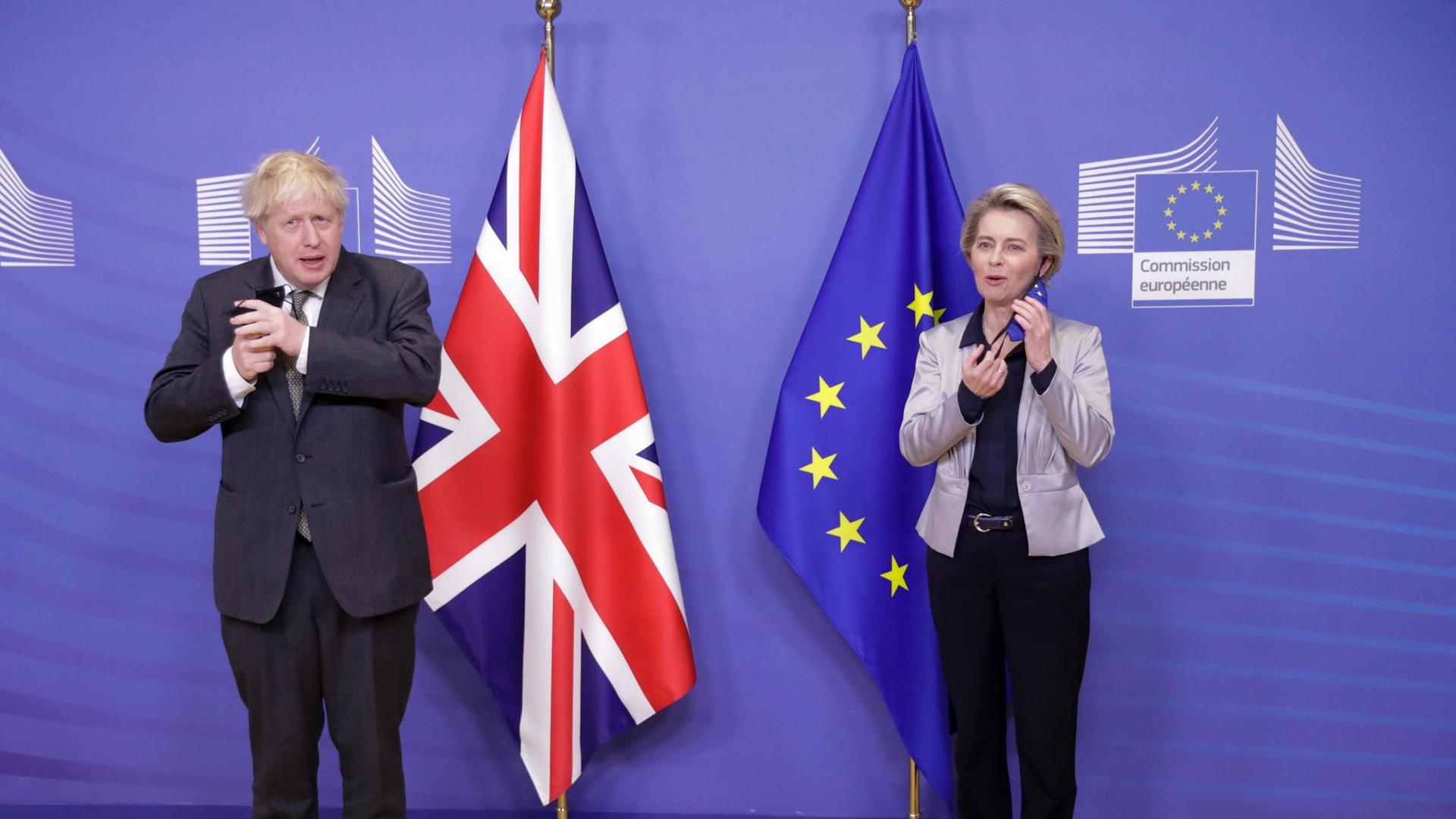 Brexit UK - EU ANSA