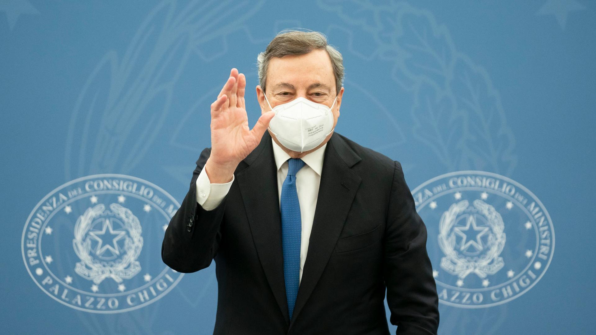 Draghi ANSA